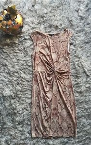 Apt 9 snake print dress
